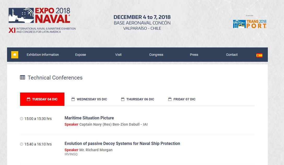 IrvinGQ Exponaval 2018 Richard Morgan speaker slot