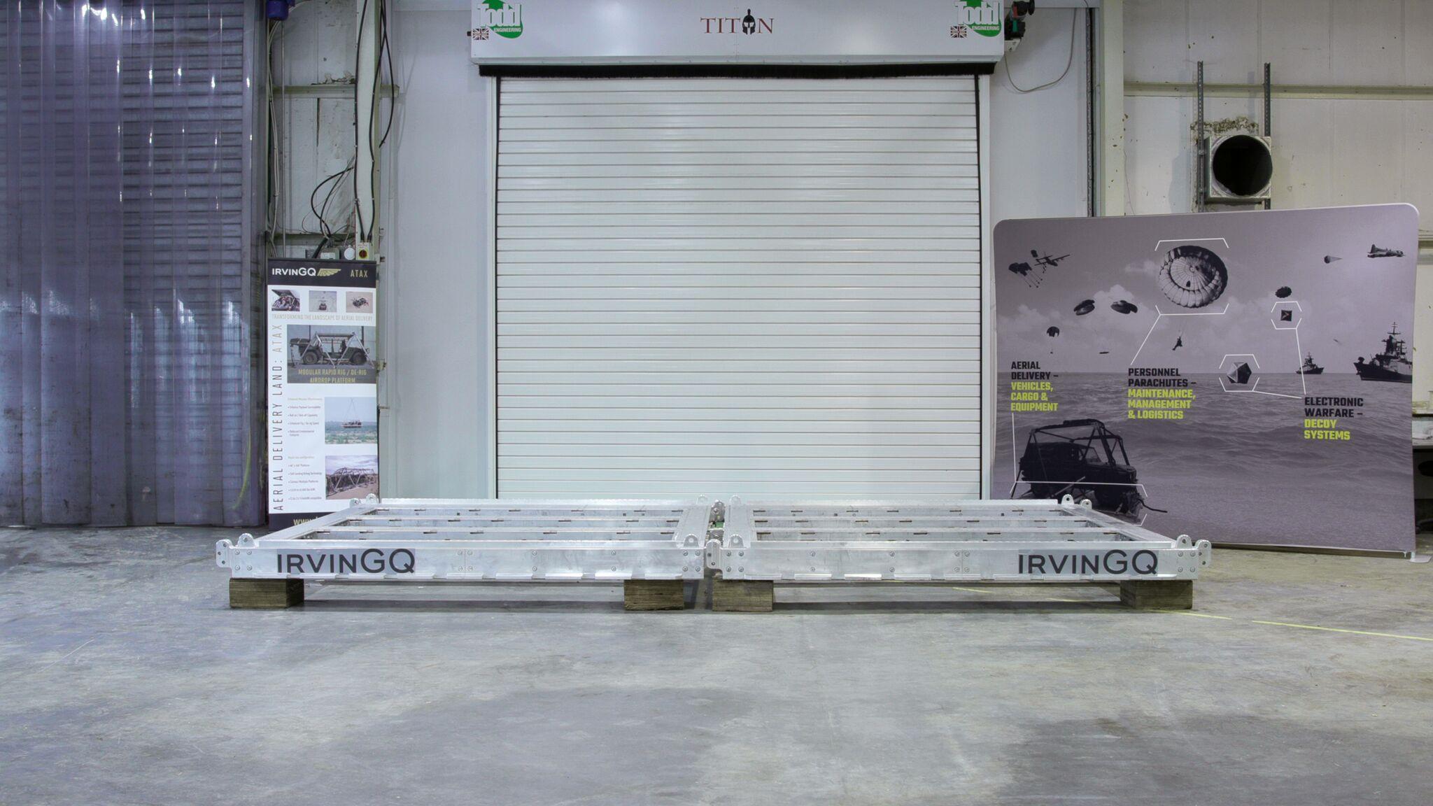 IrvinGQ ATAX aerial delivery modular platform