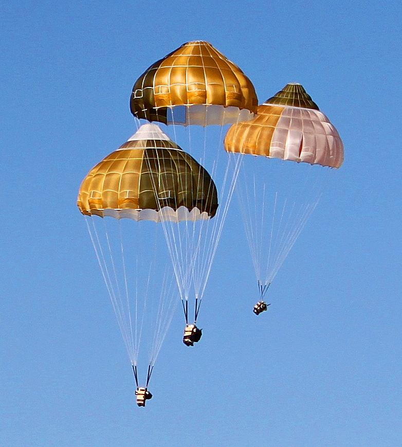 IrvinGQ Ejection seat parachutes