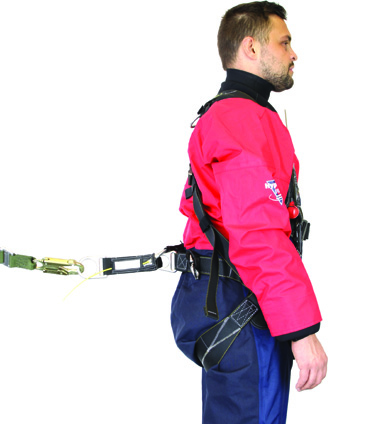 IrvinGQ lightweight harness - search and rescue