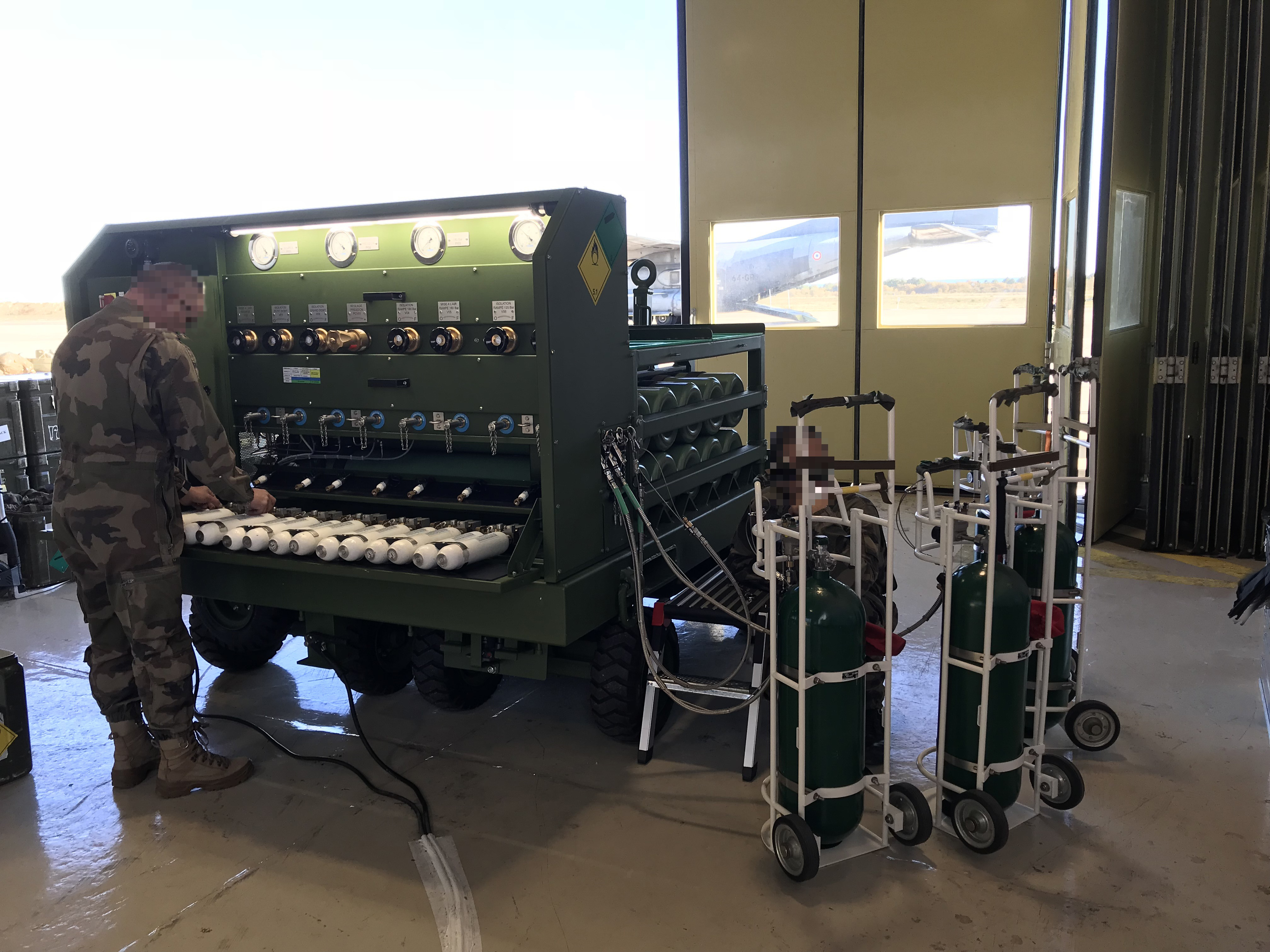 DO22A Airborne Systems oxygen system