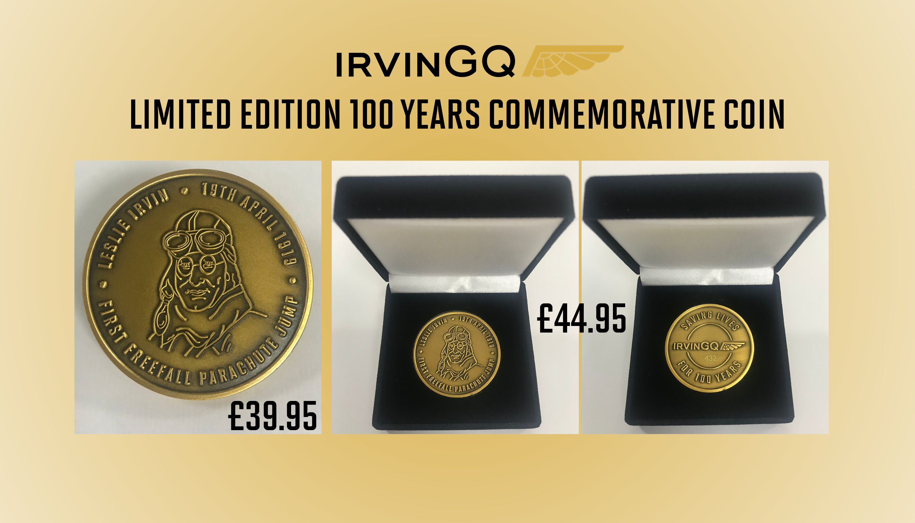 IrvinGQ 100 Year Commemorative Coin