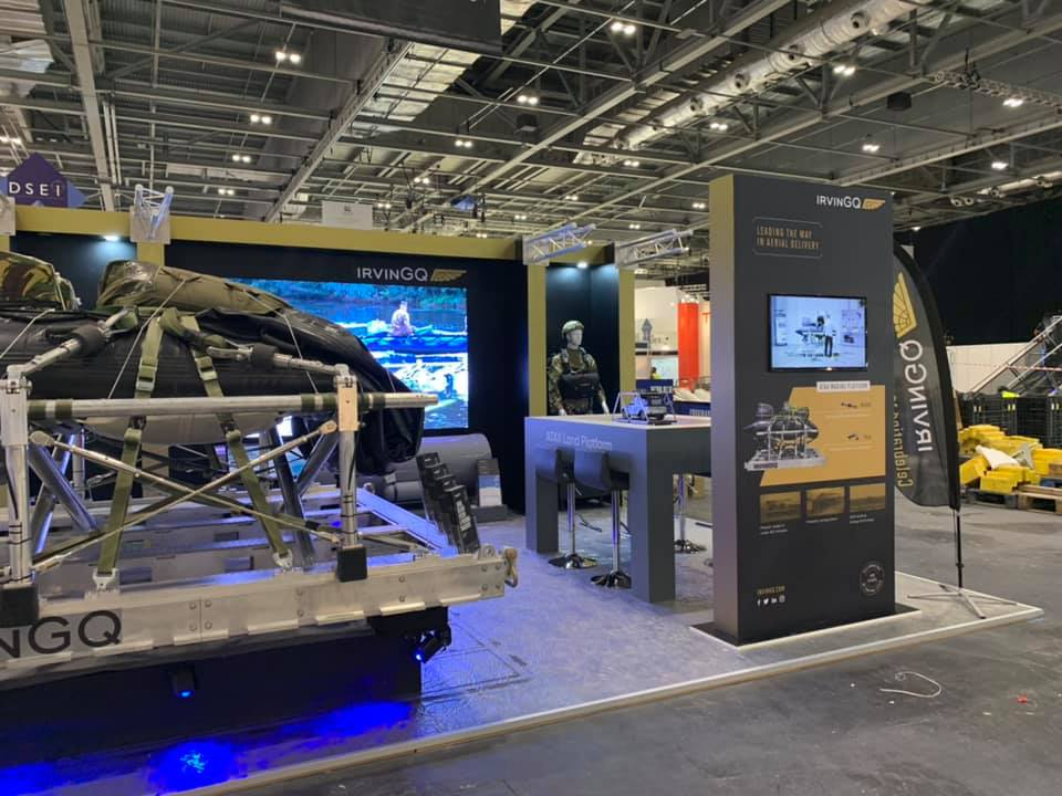 IrvinGQ DSEI 2019 products on Display