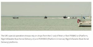 IrvinGQ PRIBAD and PURIBAD boat drop aerial delivery systems